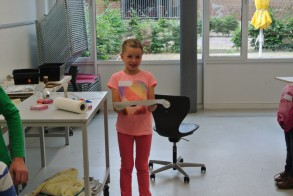 Tag der Talente am WGM: Mein eigenes Papier!