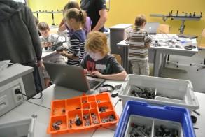Tag der Talente am WGM: Weit mehr als ein gewöhnlicher Lego-Bausatz kommt bei den Devils zum Einsatz.