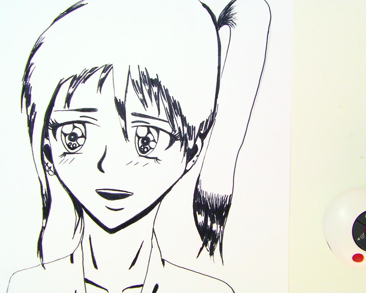 anime schwarz weiГџ
