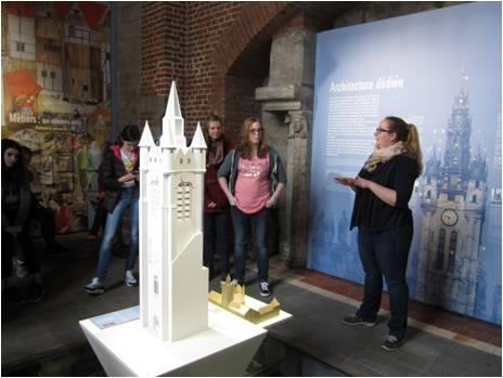 Douai, Beffroi: Besucherzentrum  (Foto: Dulle 2015)