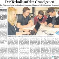 Wissenschaftstag2014_Bericht
