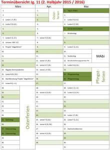 Klausurenplan Jg11 HaJa2