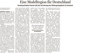Bericht in der Meppener Tagespost vom 02.03.