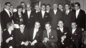 50 Jahre ist das her: die Abiturientia im Jahr im Jahr 1963.