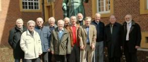 Besuchten nach einem halben Jahrhundert Meppen und das Windthorst-Gymnasium.