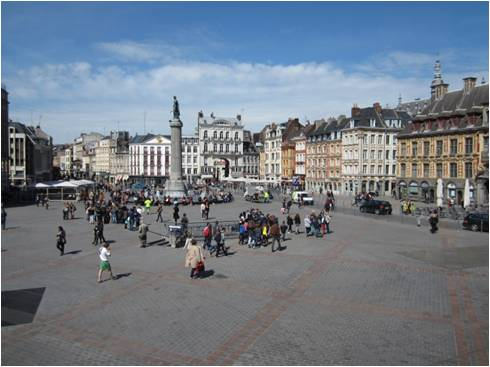 Lille, Grand' Place (Foto: Dulle 2015)