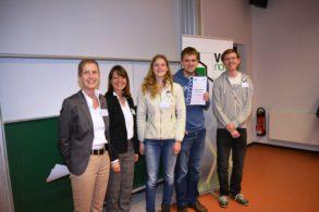 Preisverleihung des Verbandes der Chemischen Industrie e. V., Landesverband Nord (VCI Nord), an der Leibniz Universität Hannover