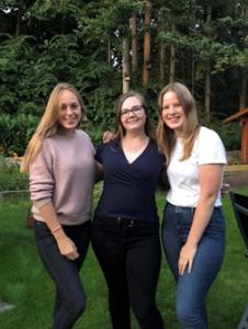 Foto Martha, Elisa und Marie